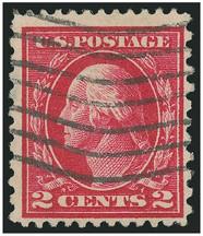 George Washington on US Stamp