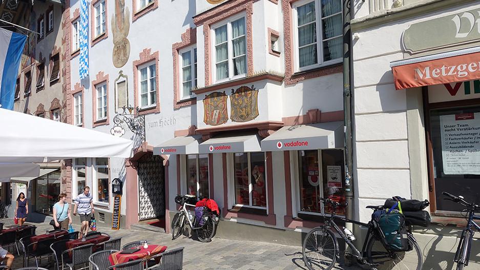 Hasis Boutique (Heute steht hier ein Mobilfunk Laden)
