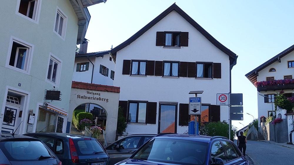 Aufgang zum Kalvarienberg