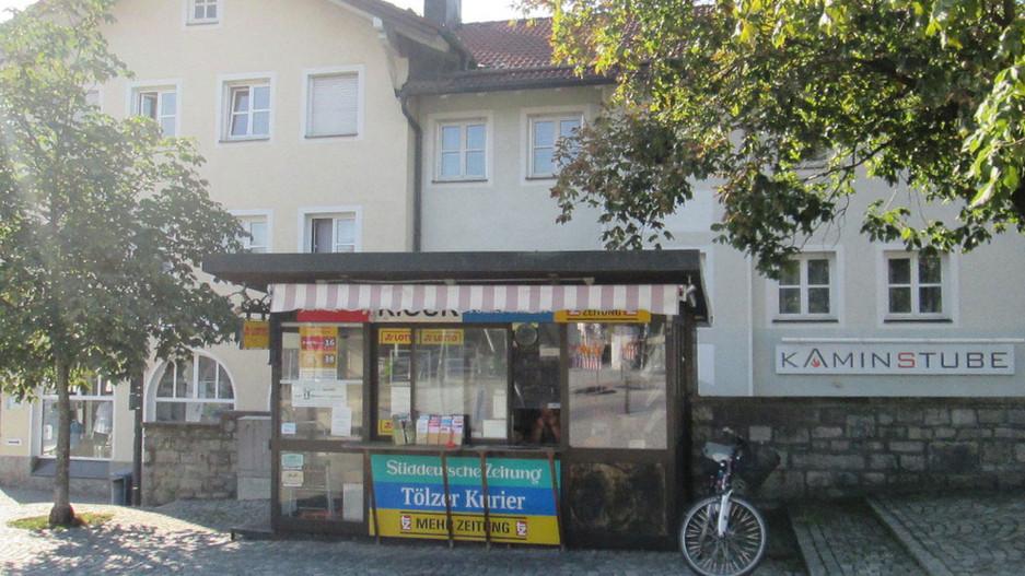 Kiosk Isarbrüke