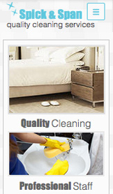 Services & Maintenance website templates – Cleaning Company