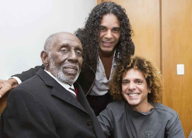 Nelson Sargento Valmon e Júnior Cardoso