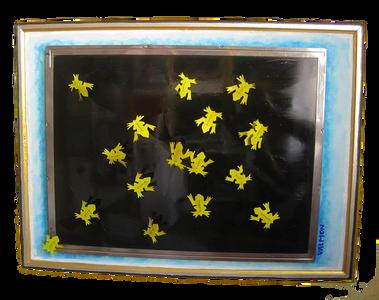 sapos dorados - golden frogs