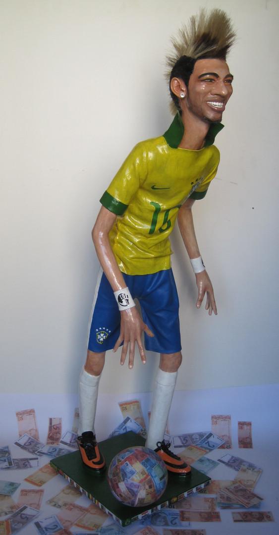 Neymar jogando na GRANA - Neymar playing on Money