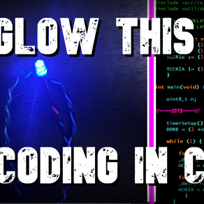 How to Glow an LED with C Language
