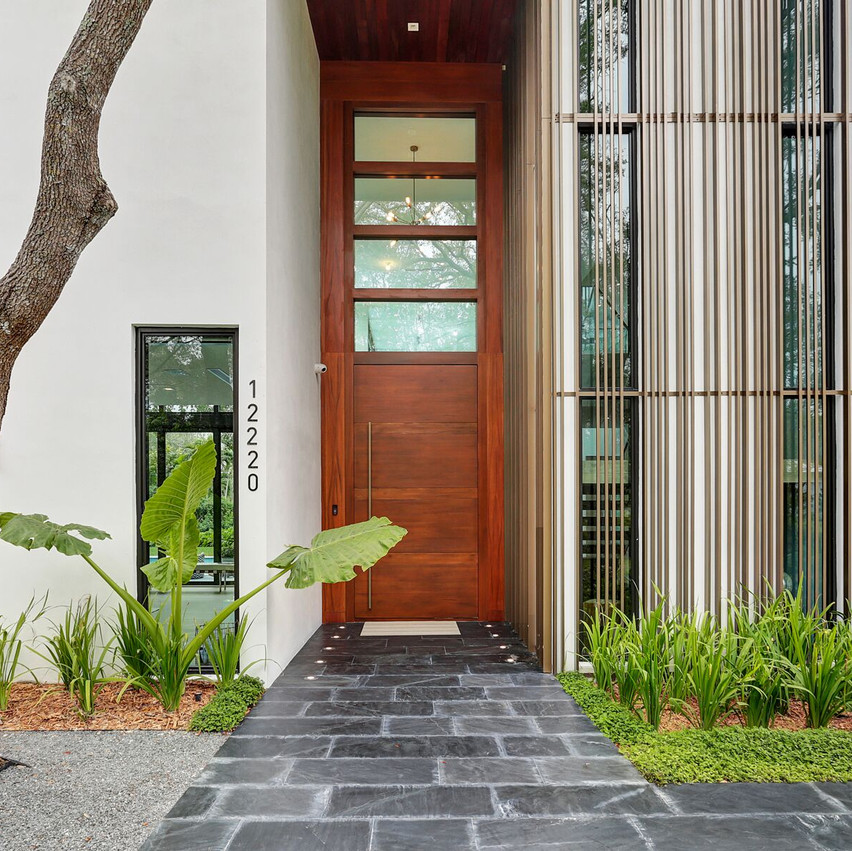 8 Entrance Door