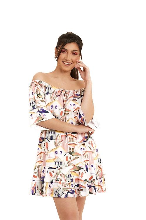 Vestido Ciganinha C237