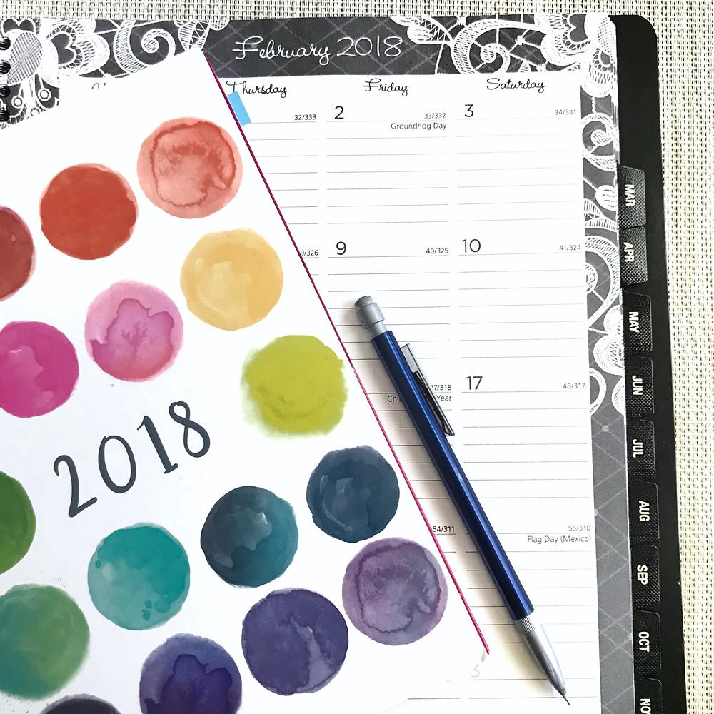 February Tracking Calendars