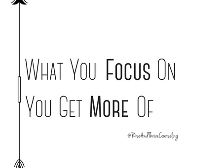 Refocus : When Things Aren't Going Your Way
