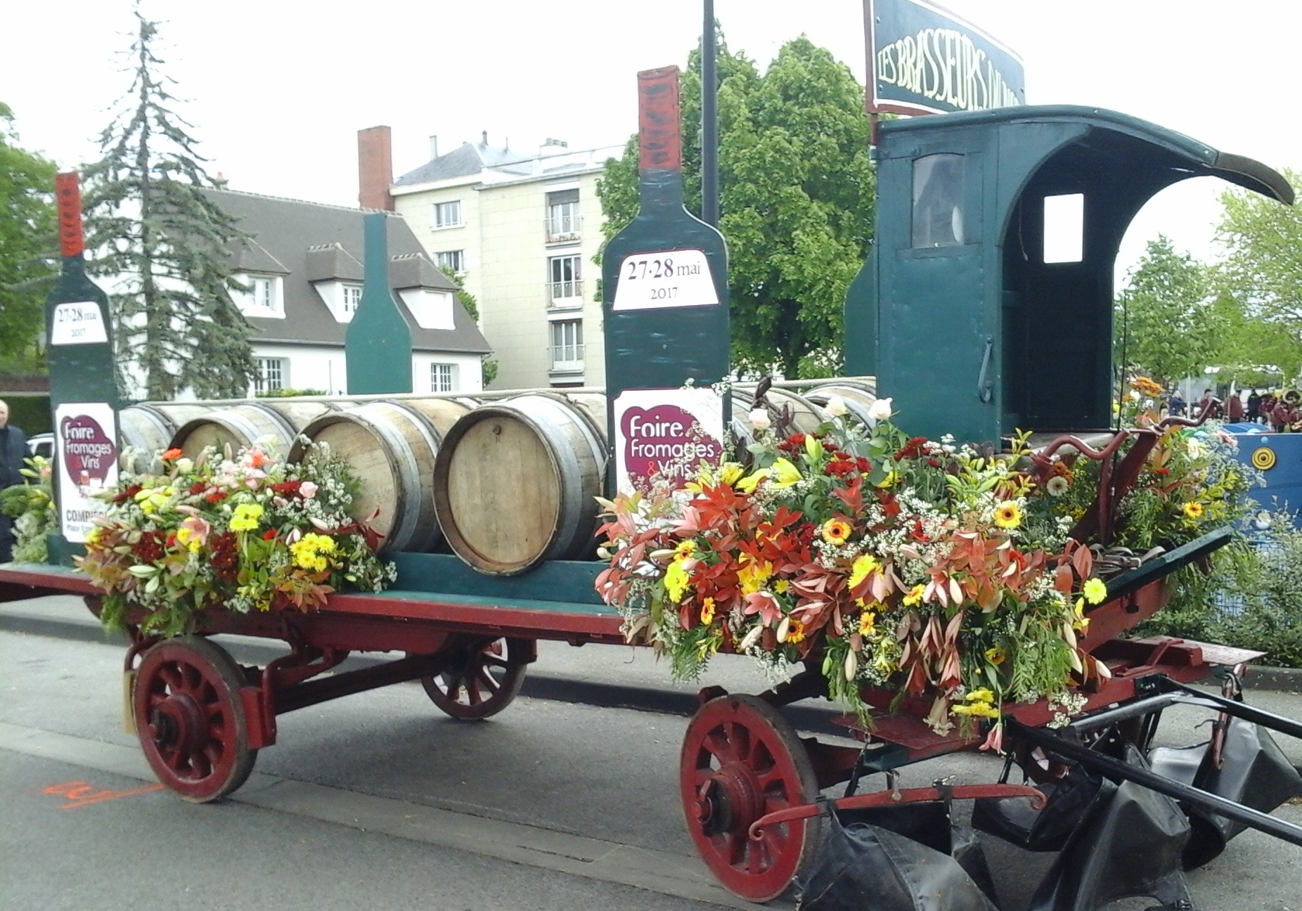 chariot de brasseur du Nord