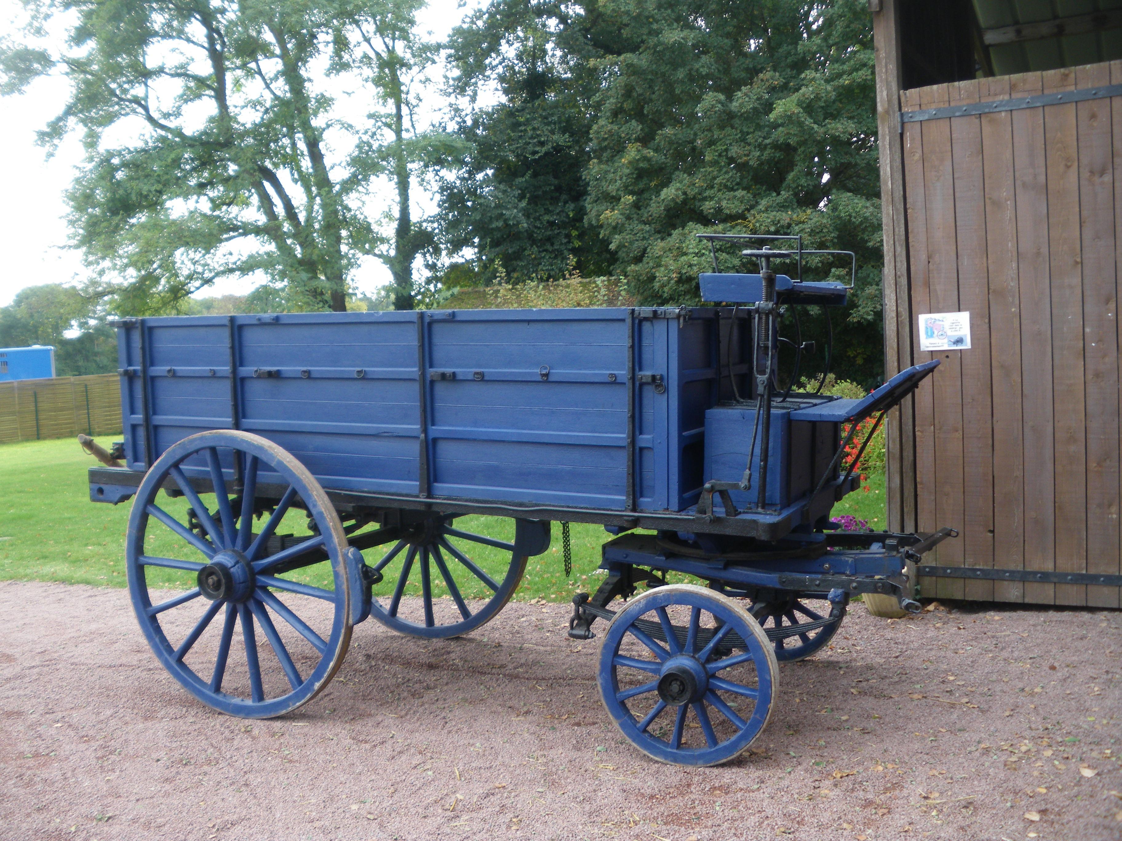 voiture de charbonnier