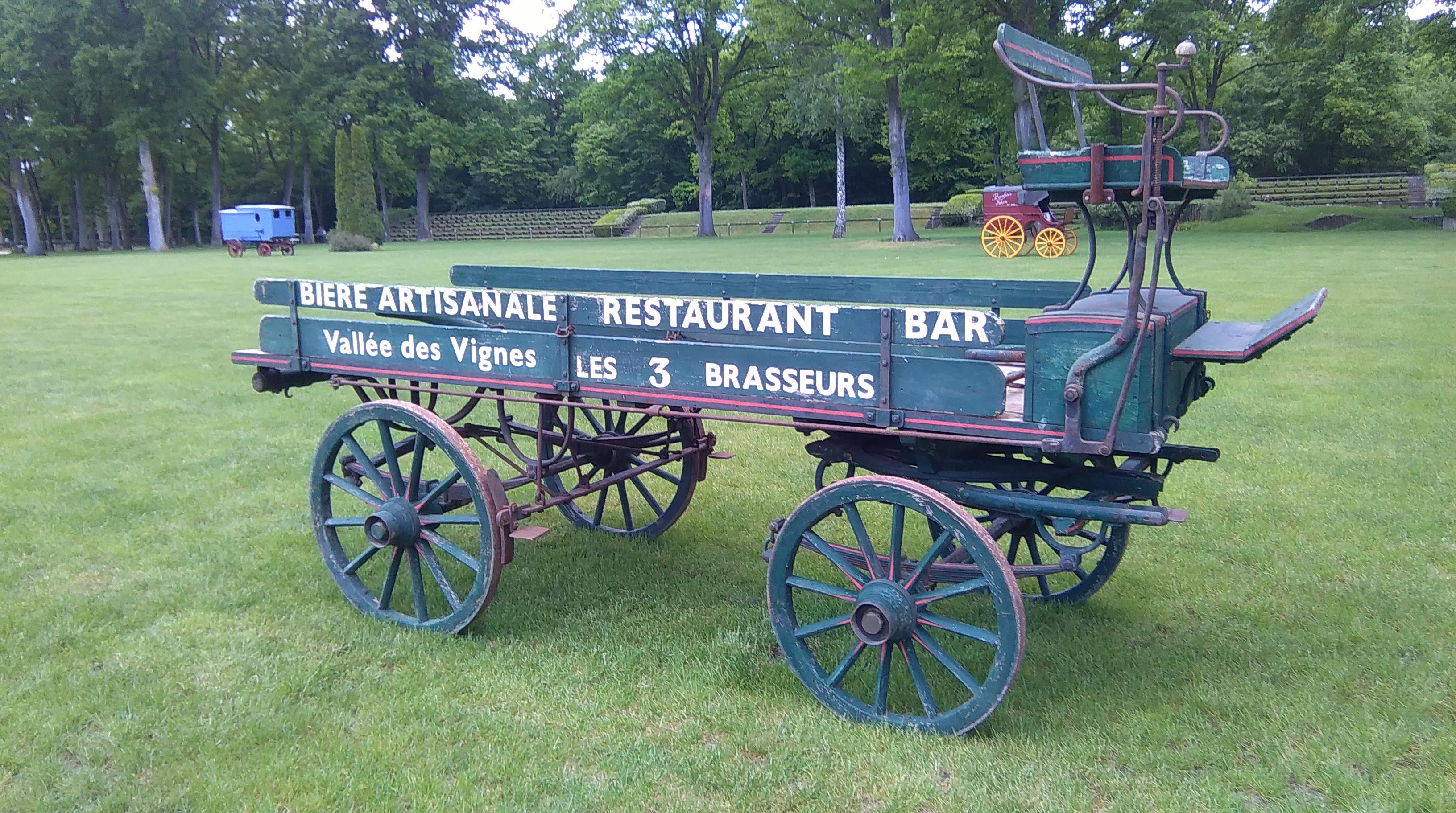 petit chariot Brasseur