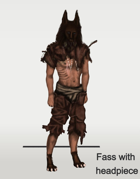 Fass with headpiece