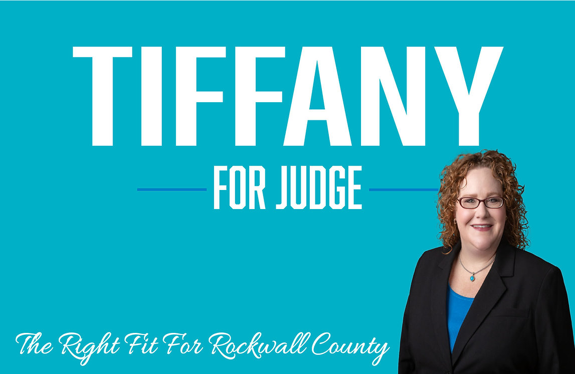 Tiffany For Rockwall Judge