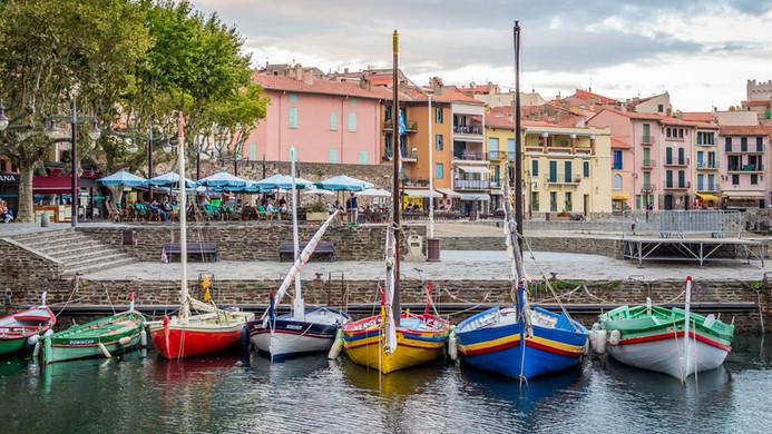 collioure port