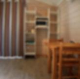 L'intérieur d'un bungalow 3 pers.