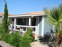 Extérieur bungalow Cannisses