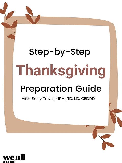 Thanksgiving Prep Guide