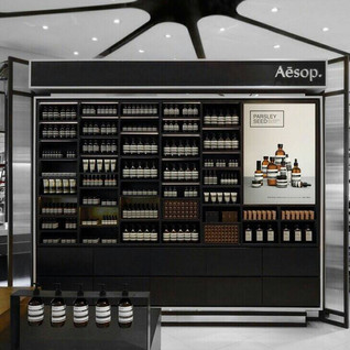 AESOP interior construction