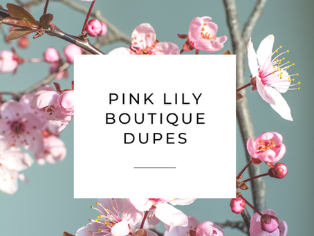 Love the Pink Lily Boutique? Check out these 7 dupes!