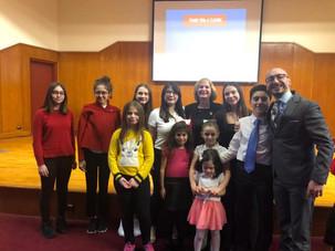"""""""Dilsel Çeşitliliğin Gelişmesinde Türkçe"""" konulu toplantıya katıldık"""