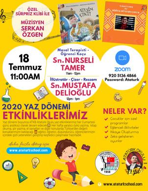ATKB Atatürk Okulu III.Yaz Etkinliğimiz