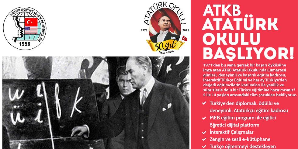 Atatürk Okulu 50. Eğitim Öğretim Yılı Açılış Töreni