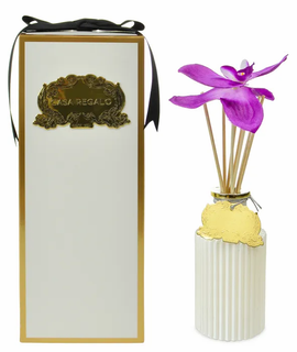Reed Diffuser (White & Gold)