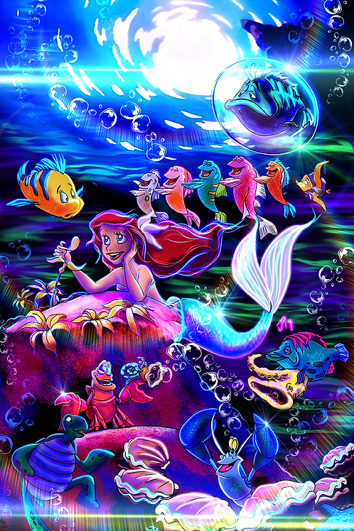 """Under The Sea"" Art Print"