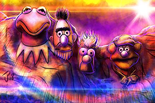 """""""Mount Muppetface"""" Art Print"""