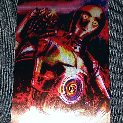 """Human-Cyborg Relation"" METAL collectible card #53"