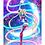 "Thumbnail: ""Fighting Evil By Moonlight"" Art Print"
