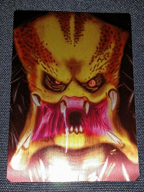 """Predator Drool"" METAL collectible card #05"