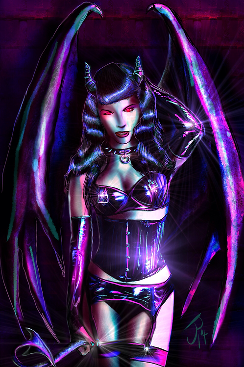"""She-Devil Bettie"" Art Print"