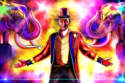 """""""This Is The Greatest Show"""" Art Print"""