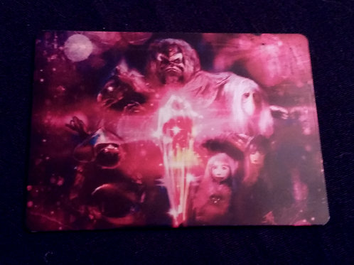 """""""When the crystal..."""" METAL collectible card #45"""