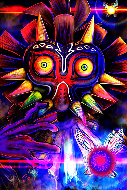 """""""If You Don't Get That Mask..."""" Art Print"""