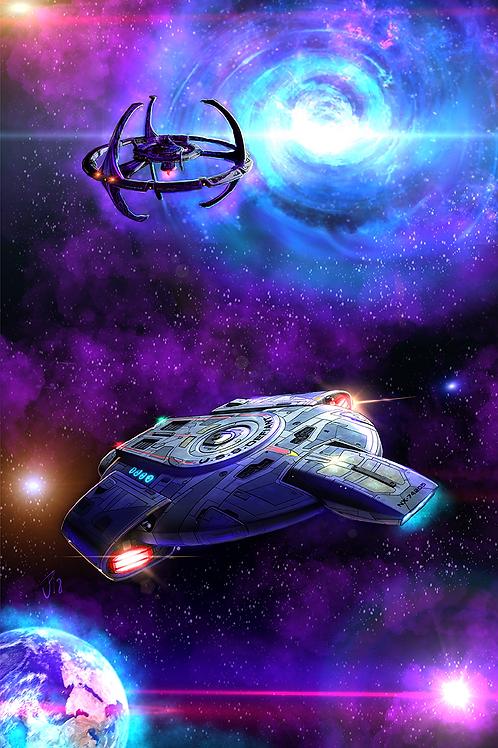 """""""Tough Little Ship"""" Art Print"""