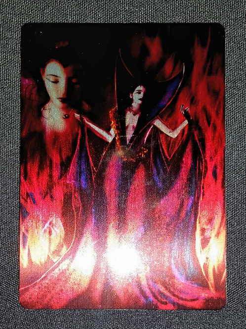 """Dreams are..."" METAL collectible card #43"