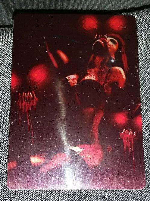 """""""Goblin Queen"""" METAL collectible card #19"""