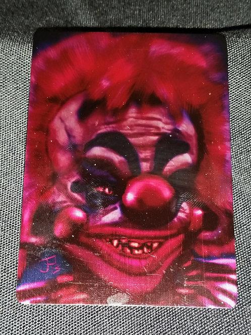 """Killer Klown"" METAL collectible card #11"