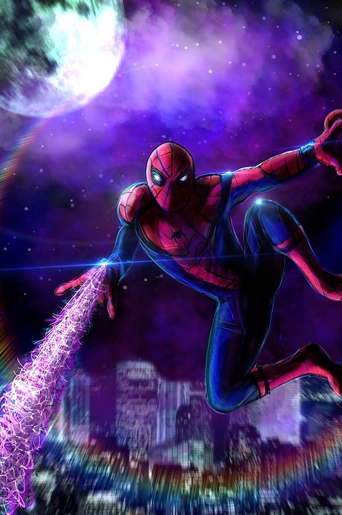 """""""With Great Power..."""" Art Print"""