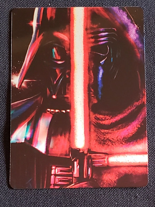 """Empires Fall...First Orders Rise"" METAL Collectible Card #92"
