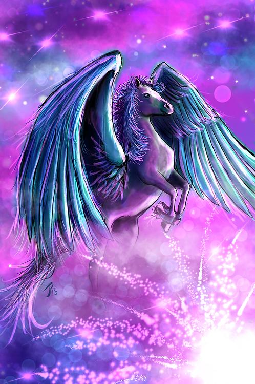 """Celestial Mare""  Art Print"