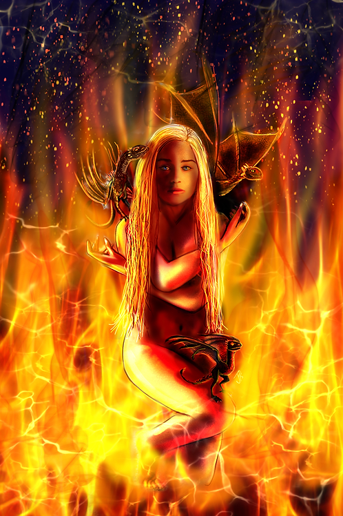 """Mother of Dragons"" Art Print"