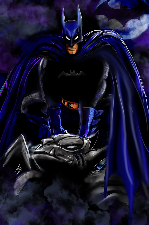 """Gotham's Guardian"" Art Print"