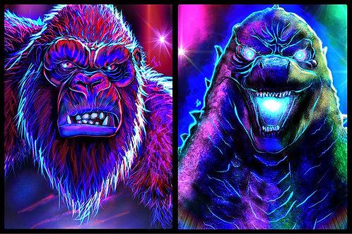 Godzilla Vs Kong Set