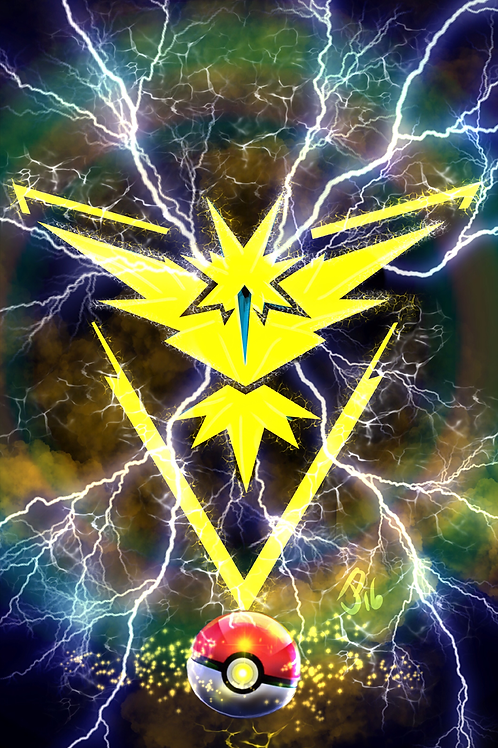 """Team Instinct"" Art Print"