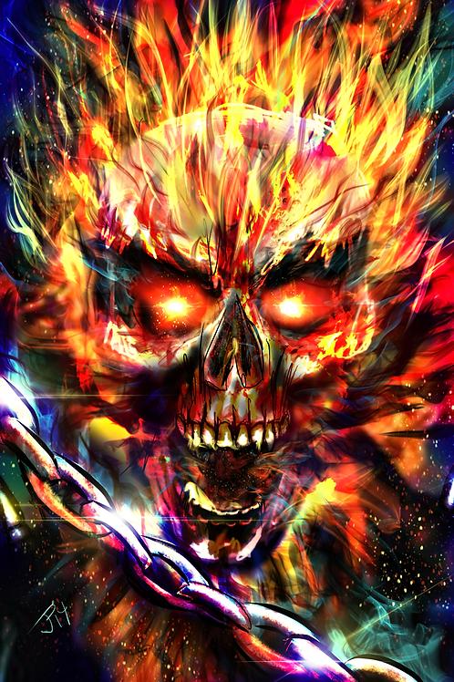 """""""I See Only Vengeance"""" Art Print"""