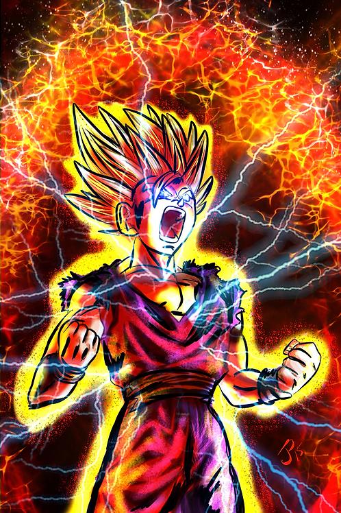 """The Power Has Awoken!"" Art Print"